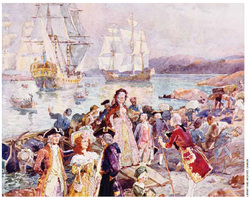 influence of british settlersin america essay The colonial economy: mercantilism the british government pursued a policy of mercantilism in international trade threatened by the presence of the french in north america, british officials knew that at some point they would have to clash with the french over the domination of the.